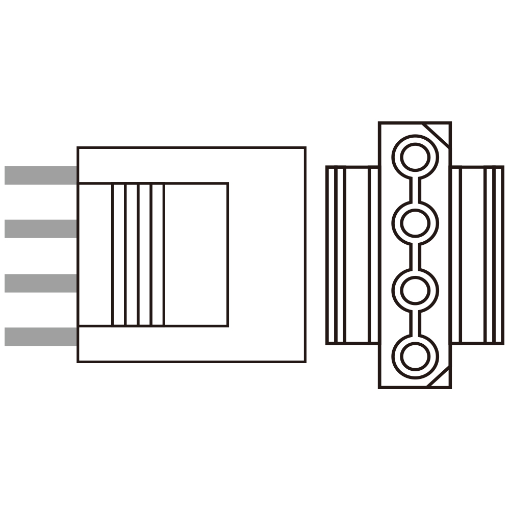 4pin peripheral