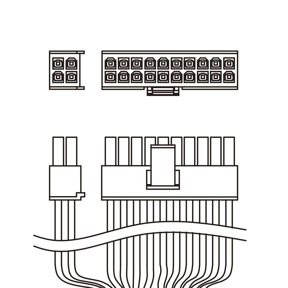 ATX 24/20 pin