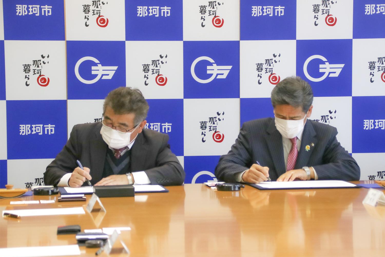 那珂市と「災害時における電子関連物品等の供給に関する協定」を締結 イメージ3
